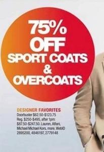 Sport Coats & Overcoats