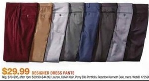 Designer Dress Pants