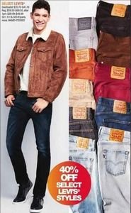 Select Levi's Styles