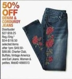 Denim & Corduroy Jeans
