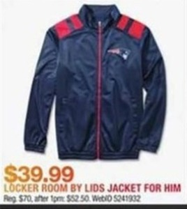 Locker Room by Lids Jacket
