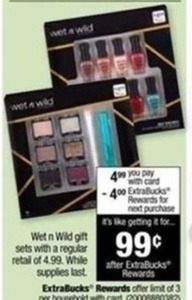 Wet n Wild Gift Sets After ExtraBucks