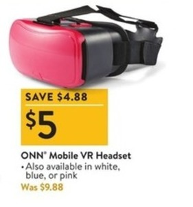 ONN Mobile VR Headset
