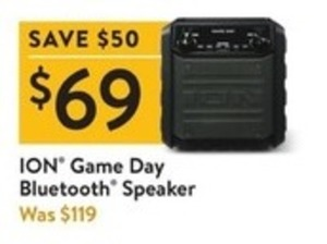 ION Game Day Bluetooth Speaker