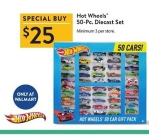 Hot Wheels 50-Pc. Diecast Set