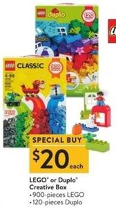 Lego or Duplo Creative Box