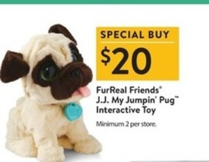 J.J. My Jumpin' Pug Interactive Toy