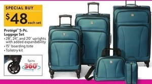 Protege 5-Piece Luggage Set
