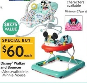 Disney Walker & Bouncer