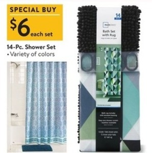 14PC Shower Set
