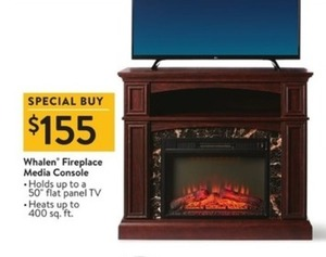 Whalen Fireplace Media Console