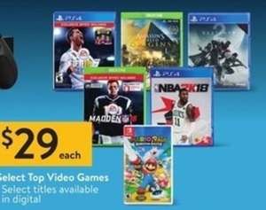 Select Top Video Games