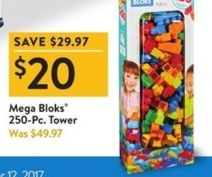 Mega Blocks 250-pc. Tower