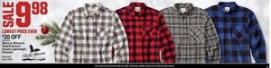 Men's or Women's Field and Stream Flannels