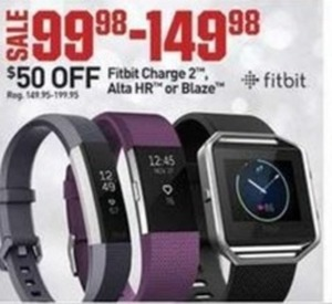 Fitbit Charge 2, Alta HR, or Blaze