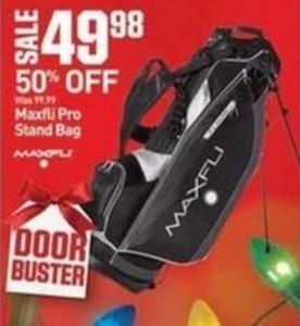 Maxfli Pro Stand Bag