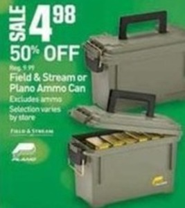 Field & Stream or Plano Ammo Can