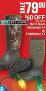 Men's Muck Edgewater Hi or Fieldblazer XT