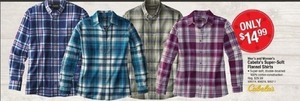 Cabala's Super Soft Flannel Shirts