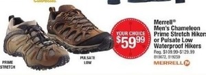 Men's Merrell Chameleon Prime Stretch Hikers