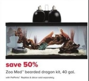 Zoo Med Bearded Dragon Kit, 40 Gal