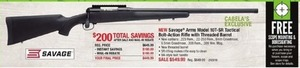 Savage Arms Model 10T-SR Tactical Bolt-Action Rifle After Rebate