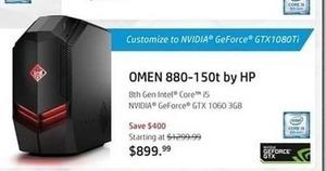 HP OMEN 880-150t