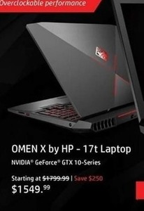HP Omen X 17t Laptop