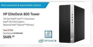HP EliteDesk 800 Tower