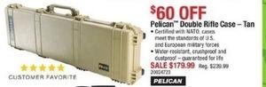 Pelican Double Rifle Case