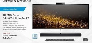 HP Envy Curved All-In-On PC
