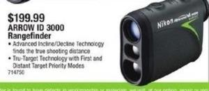 Nikon Arrow ID 3000 Rangefinder