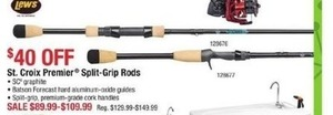 St. Croix Premier Split-Grip Rods