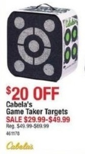 Cabela's Game Taker Targets