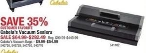 Cabala's Vacuum Sealers