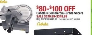 Cabala's Commercial Grade Slicers