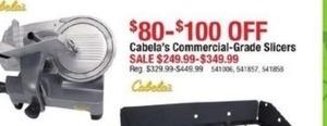 Cabala's Commercial Grade Slicers