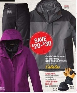 Cabala's Outerwear For The Family