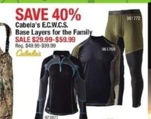 Cabala's E.C.W.C.S. Base Layers For The Family