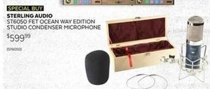 Sterling Audio ST6050 FET Ocean Way Edition Studio Condenser Microphone