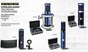 Sterling Audio Recording Microphones