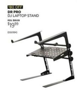 Dr Pro DJ Laptop Stand