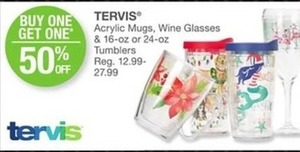 Tervis Acrylic Mugs, Wine Glasses and Tumblers
