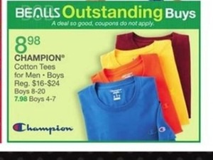 Champion Cotton Tees For Men