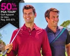 PGA Tour Golf Apparel for Men