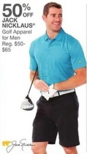 Jack Nicklaus Golf Apparel for Men