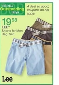 Lee Shorts for Men