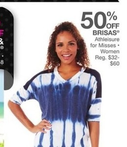 Brisas Athleisure for Misses Women