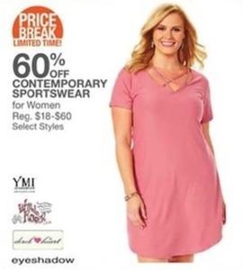 Contemporary Sportswear For Womern