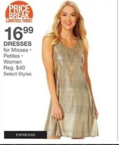 Dresses for Misses Petites